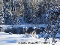 WINTER OPENINGS- Inverness Falls Resort; in the Whiteshell