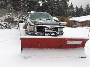 2010 GMC Crew Cab with Boss Plow
