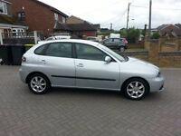 2007 SEAT IBIZA 1.4 STYLANCE, LOW MILEAGE, 5 DOOR, LONG MOT, LOVELY CAR, VW POLO VOLKSWAGON
