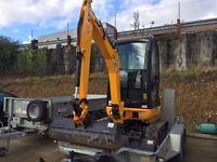 2016 JCB 8018 CTS Cab 1.5t / 1.8t Mini Excavator Mini Digger 69hrs c/w 3 Buckets