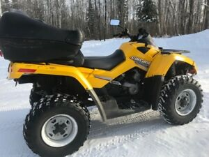VTT Can-Am Outlander 650 2008