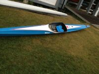 Kayak competition Nelo Vanquish II ML construction F