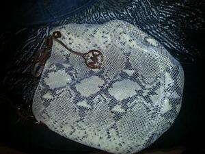 Original michael kors snakeskin purse