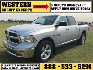 2014 Ram 1500 SLT 4x4 ~ 5.7L Hemi~8 Speed ~ Sunroof ~ $99 B/W