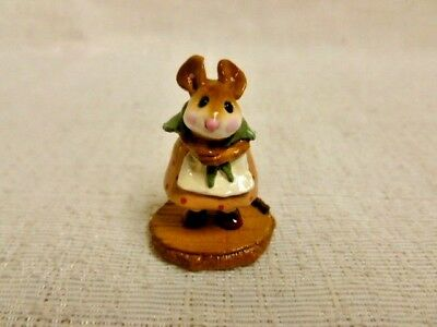 Wee Forest Folk Little Nell Special Edition M-254 Tan Dress Mouse Retired