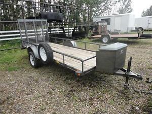 Big Tex Utility Flat Deck