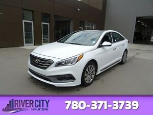 2016 Hyundai Sonata SPORT TECH NAV Leather,  Heated Seats,  Blue