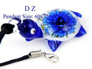 Murano Style Glass Pendants & Earrings (see pics)
