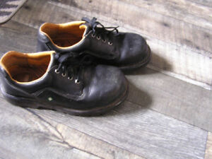 Leather Dakota Shoes CSA Green Patch Mens