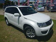 2013 Suzuki Grand Vitara JT MY13 Urban (4x2) White Pearl 4 Speed Automatic Wagon Brownsville Wollongong Area Preview