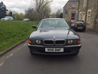 1996 BMW 735i 2 Owners Service History Automatic Full Leather Superb Condition 12 Months Mot VGC
