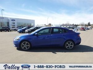 ATTRACTIVE, LOW KMS & FUN TO DRIVE! 2013 Dodge Dart LIMITED/GT