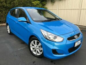 2018 Hyundai Accent RB6 MY19 Sport Blue Lagoon 6 Speed Sports Automatic Hatchback Devonport Devonport Area Preview