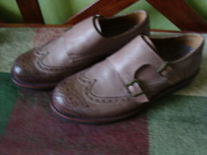MEN'S GBX LEATHER SHOES SIZE 9.5/42 1/2 ''NEW'' West Island Greater Montréal image 2