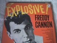 Vinyl LP Freddy Cannon ��� Explosive