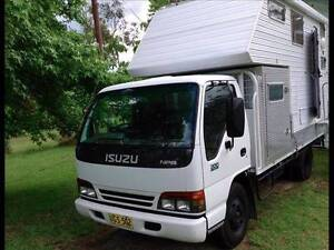1996 Isuzu Truck NPR 200 Camper Motor Home Kilmore Mitchell Area Preview