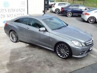 MERCEDES-BENZ E 220 SPORT COUPE AUTO ( FINANCE & WARRANTY AVAILABLE) (grey) 2010