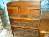 OLD WOOD SHELVING UNIT