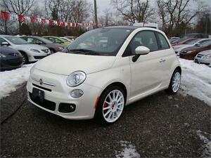 2013 FIAT 500 Sport Manual with Abarth Rims!