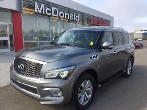2017 Infiniti SUV 4WD QX80 Limited Limited Leather - Entertainment System