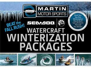Sea-Doo Winterization Packages