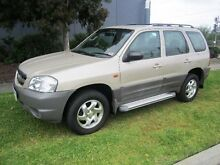 2003 Mazda Tribute Limited Gold 4 Speed Automatic 4x4 Wagon Tuerong Mornington Peninsula Preview