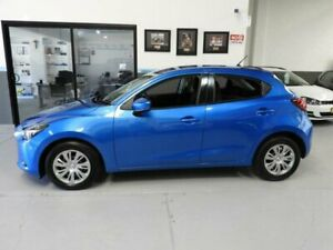 2017 Mazda 2 DJ Series Neo Hatchback 5dr SKYACTIV-Drive 6sp 1.5i [Jan] Blue Sports Automatic Pendle Hill Parramatta Area Preview