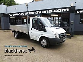 2007 Ford Transit T350 2.4 TDCi 100ps BRAND NEW ALLOY BACK Diesel white Manual
