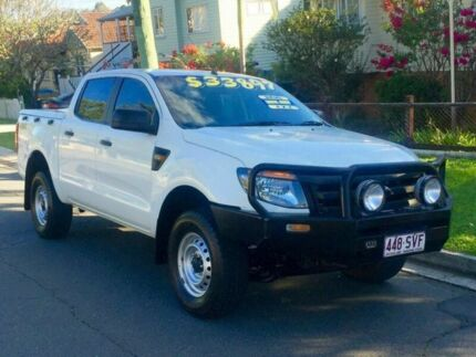 2011 Ford Ranger PX XL Double Cab White Automatic Utility Greenslopes Brisbane South West Preview