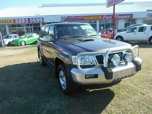 2006 Nissan Patrol GU IV MY05 ST Gold 5 Speed Manual Wagon Kippa-ring Redcliffe Area Preview