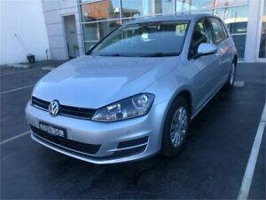2014 Volkswagen Golf VII MY15 90TSI Silver Sports Automatic Dual Clutch Hatchback Lansvale Liverpool Area Preview