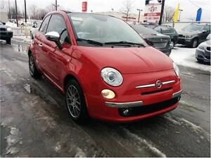 2013 FIAT 500 Lounge, Convertible,*CUIR+BLUETOOTH+MAGS+AC*