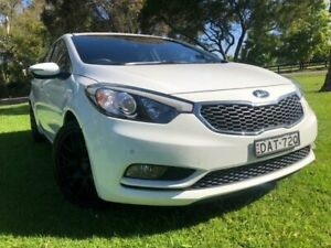 2015 Kia Cerato YD MY15 S White 6 Speed Manual Hatchback Tuggerah Wyong Area Preview