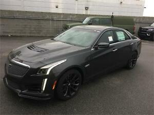 NEW 2017 Cadillac CTS-V Sedan grey Automatic NEW