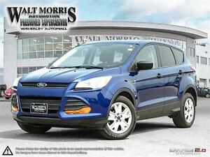 2014 FORD ESCAPE S: ACCIDENT FREE, ONE OWNER