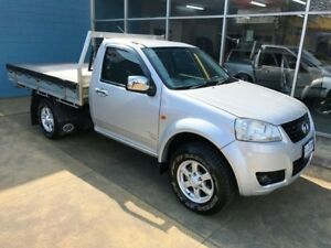 2012 Great Wall V240 K2 MY11 (4x4) Silver 5 Speed Manual Cab Chassis Hobart CBD Hobart City Preview