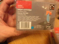 11 x genuine Canon ink cartridges & 3 x compatible Canon ink cartridges