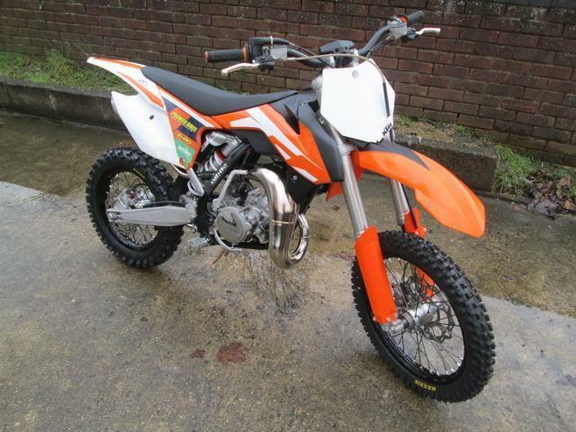 ktm sx 85 2016 small wheel motocross motorcycle in didcot oxfordshire gumtree. Black Bedroom Furniture Sets. Home Design Ideas