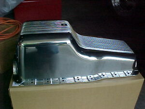 SMALL BLOCK FORD 289 302 Polished Aluminum Oil Pan London Ontario image 3