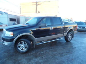 2004 Ford F-150 Lariat supercrew  SUNROOF - LEATHER SEATS - 4X4