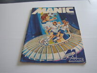 1981 Programme soccer Montreal Manic premier match local a vie