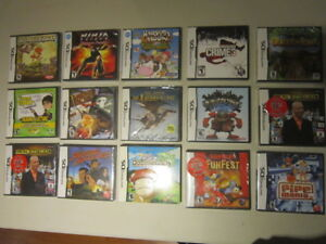Nintendo DS Games - All Factory Sealed!!