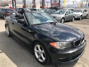 2009 BMW 1 Serie 128i Convertible, CUIR, MAGS, A/C