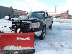 2007 GMC Sierra 1500 WT With Plow