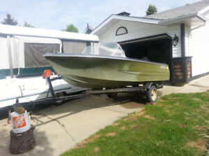 Great Project Boat w/Trailer - Price Reduced