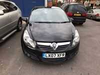 2007 Vauxall Corsa 1.2 sxi with full Service History & Excellent Driver