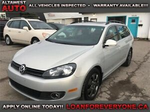 2011 Volkswagen Golf Wagon Comfortline LEATHER PANORAMIC ROOF