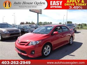 2012 Toyota Corolla S LEATHER, ROOF, NAVI
