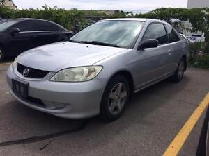 2004 Honda Civic, Coupe,  Alloys, Economical, Manual.