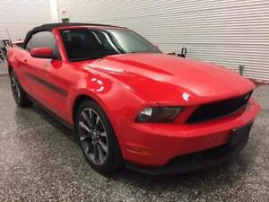 2012 Ford Mustang California spécial    Convertible Rouge